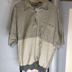 Vintage Members Only shirt men's LG